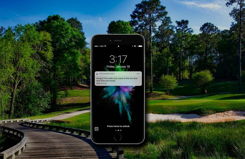 offcourse-golf-push-notification