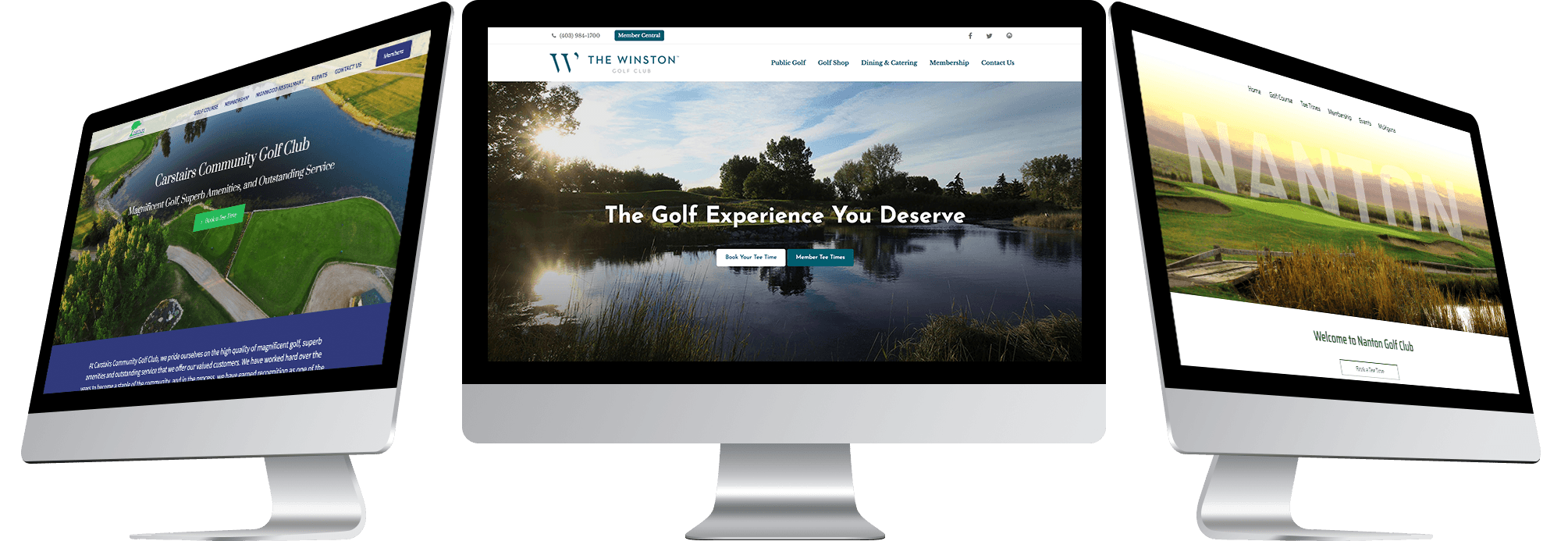 offcourse golf course websites